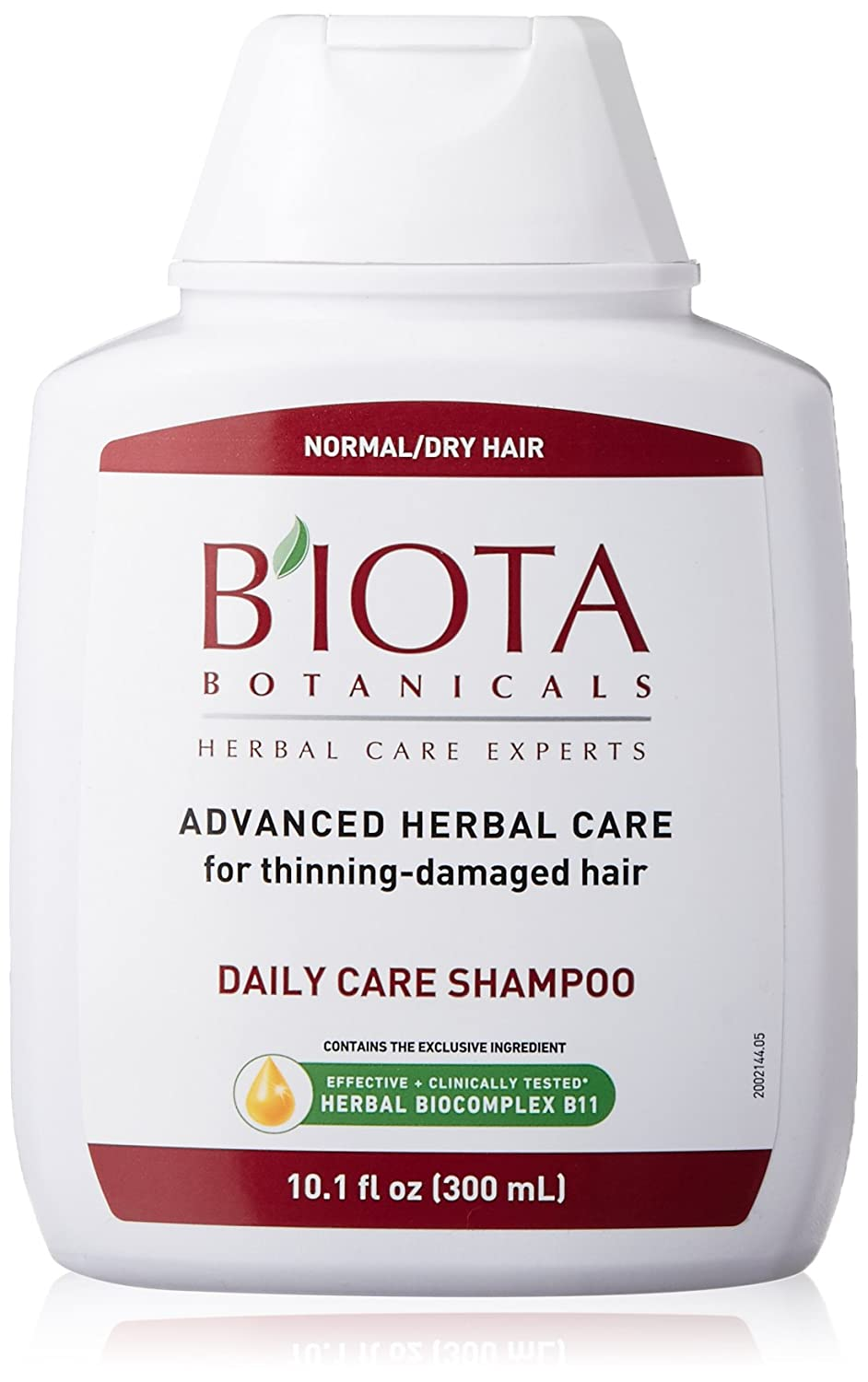 Biota Botanicals Daily Care Shampoo 300 Milliliters Bio-9485