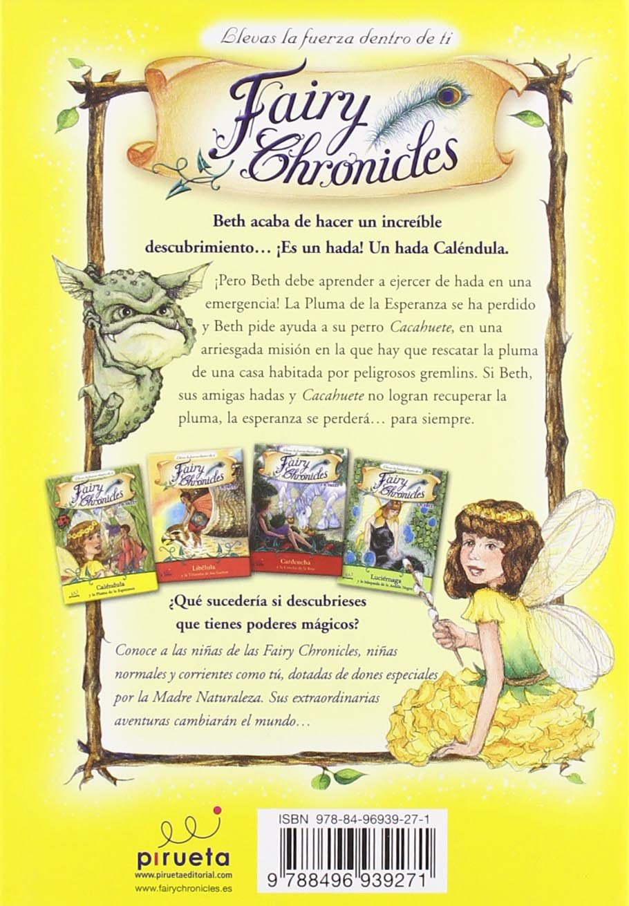 Calendula y la pluma de la esperanza (Fairy Chronicles (Spanish)) (Spanish Edition): J.H. Sweet: 9788496939271: Amazon.com: Books