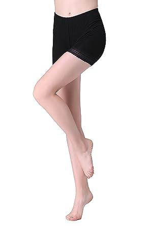 ec97514b7a3bdd Vinconie Damen Shorts Leggings Kurz Mit Spitze Yoga Hose Shorts Tanzen:  Amazon.de: Bekleidung