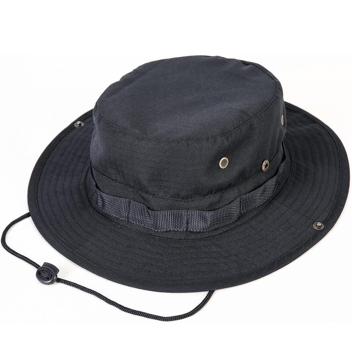 Unisex Militar Sombrero - Tela de algodón y poliéster suave superior ... 528791c8ac3