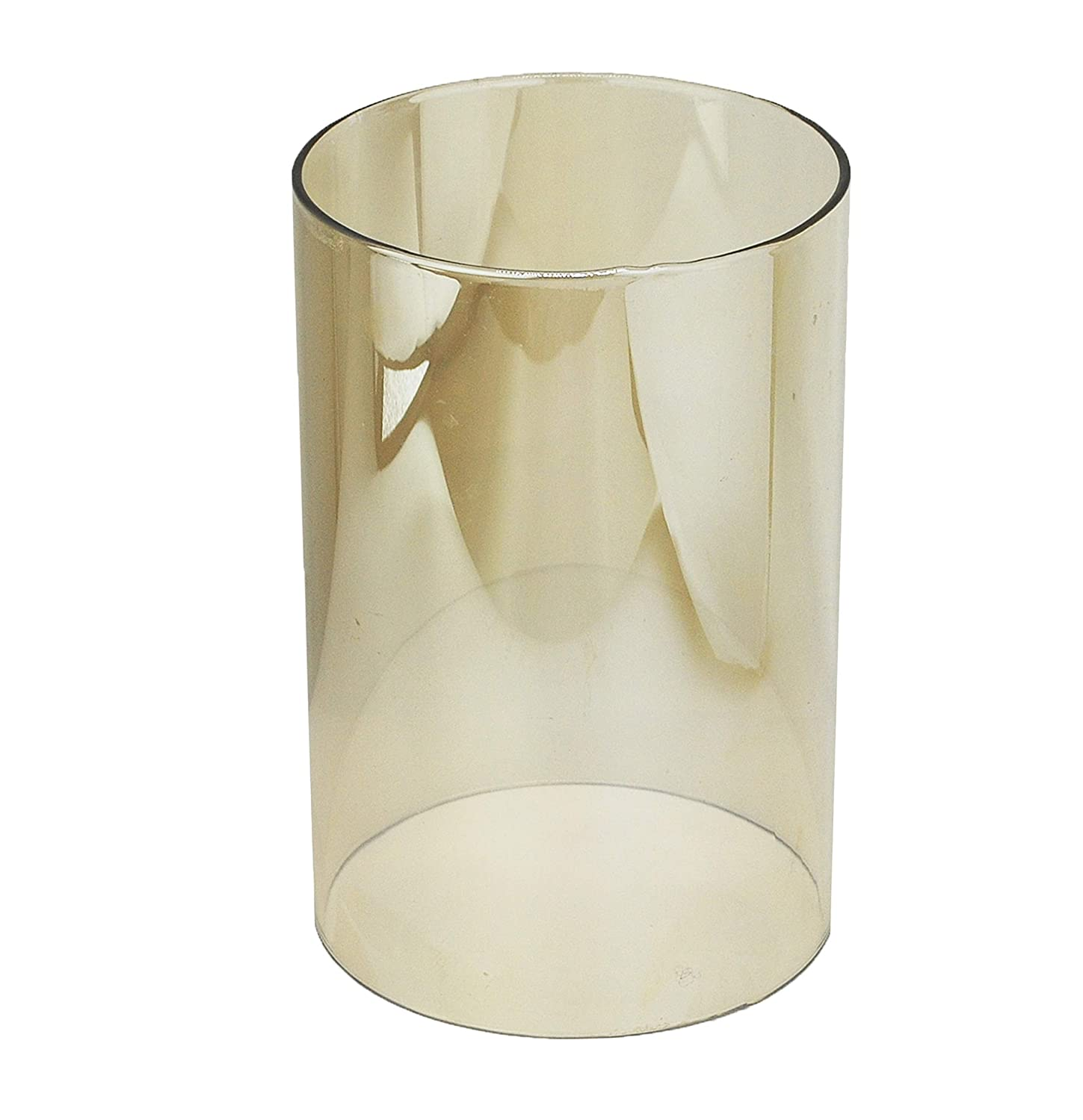 3.2//3.5//4//4.4//4.7 Inch U-play Cylinder Glass Vase 6 High 4 Wide Open End Clear Candle Holders Suitable for Hurricane Glass Candles of Any Size