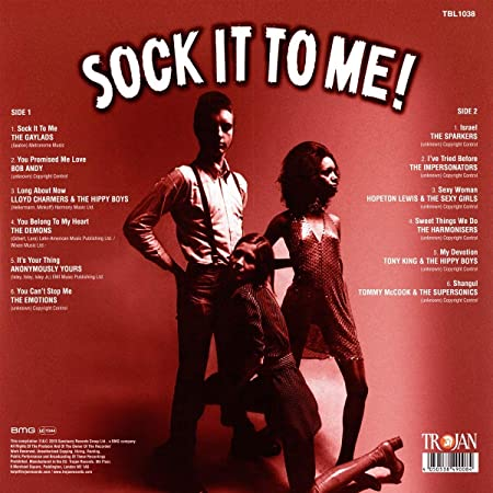 Varios -Sock It To Me: Boss Reggae Rarities In The Spirit Of 69 : Varios, Varios: Amazon.es: Música