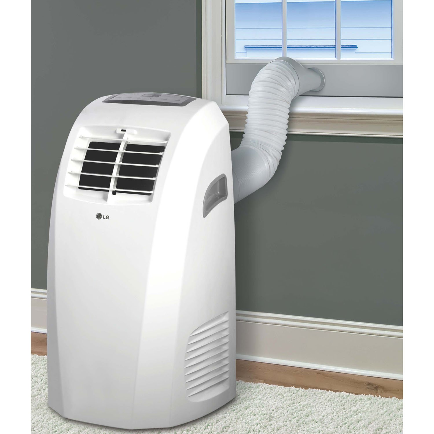 Delightful Amazon.com: LG LP1015WNR 115V Portable Air Conditioner With Remote Control  In White For Rooms Up To 250 Sq. Ft.: Home U0026 Kitchen