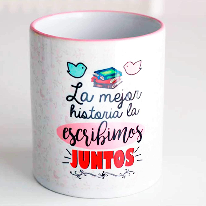 Taza Amor historia de Amor: Amazon.es: Handmade