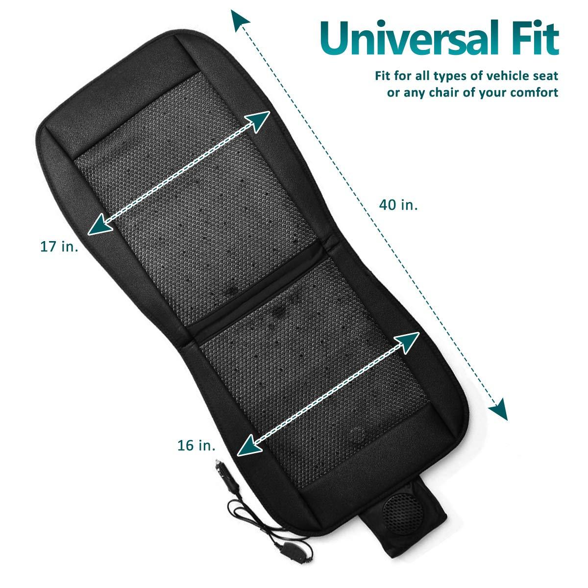Amazon.com: Zone Tech - Cojín de refrigeración para asiento ...