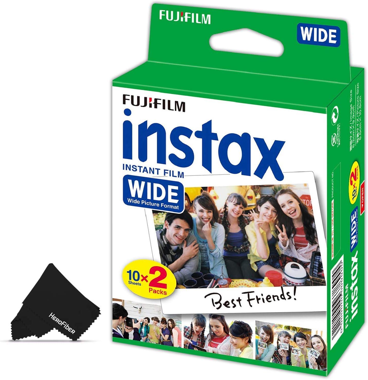 Papel film para  FujiFilm Instax Wide 300, 210 y 200 (x20)