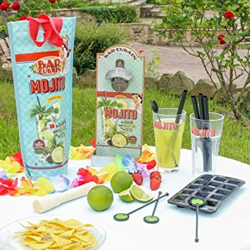 Mojito Geschenk Set Brilliant Set Für Cocktail Liebhaber
