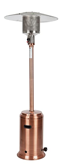 Fire Sense Copper Finish Commercial Patio Heater