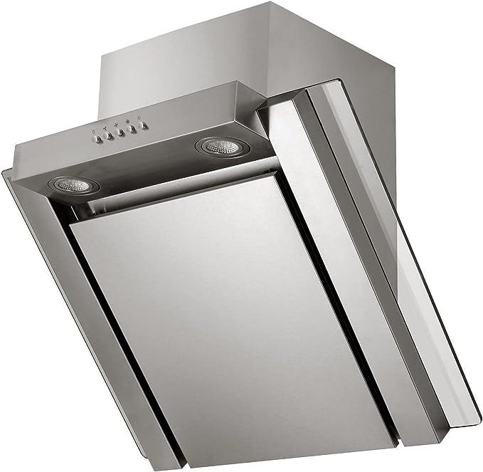 recirculación Juego de campana SH60 ixg + Filtro de carbón activo LED 60 cm Inox: Amazon.es: Hogar
