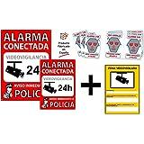 Wolfpack 15050921 Cartel Alarma Conectada Aviso A Policía ...