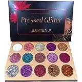 Beauty Glazed Paleta De Sombras De Ojos Profesionales - Paleta Maquillaje - Altamente Pigmentados 15 Colores Brillantes…