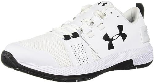 super popular d835a 30190 Under Armour Men s Commit Tr X Nm Sneaker White (100) Black 10.5 M