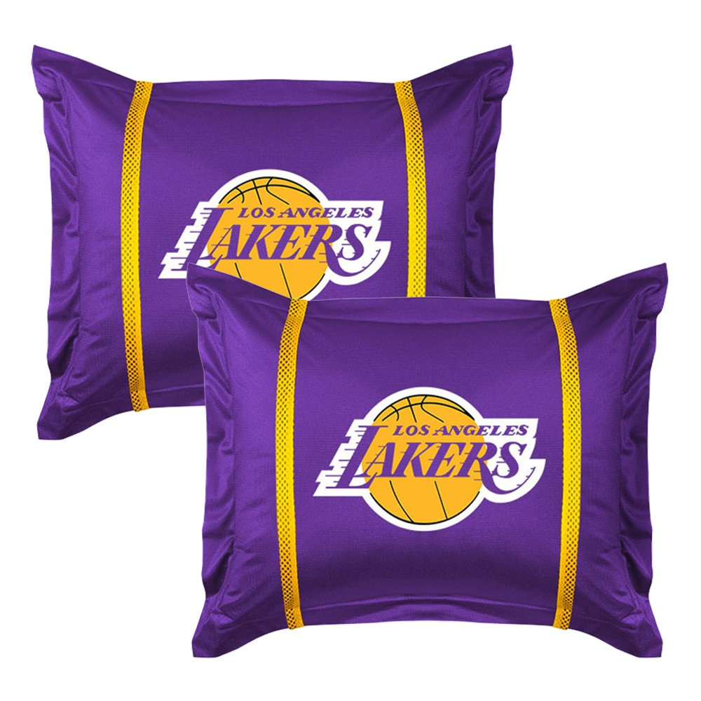 Los Angeles Lakers 7 Pc FULL Comforter Set (Comforter, 1 Flat Sheet, 1 Fitted Sheet, 2 Pillow Cases, 2 Shams) SAVE BIG ON BUNDLING!