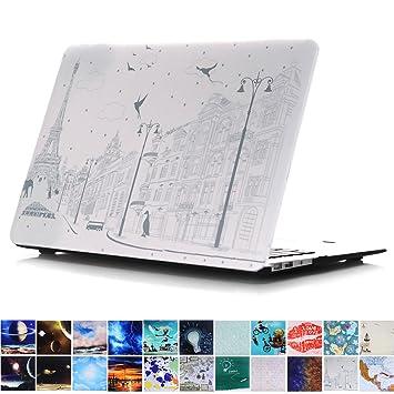 Funda para Apple MacBook Air de 13 pulgadas (33 cm) colección PapyHall Macbook Air Art, carcasa rígida con revestimiento de plástico, modelo: ...