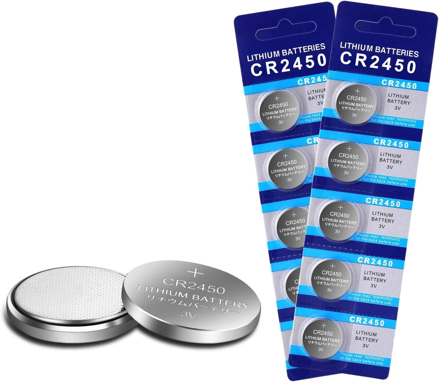 Cr2450 Lithium Batterie Für Autoschlüssel Flammenlose Elektronik