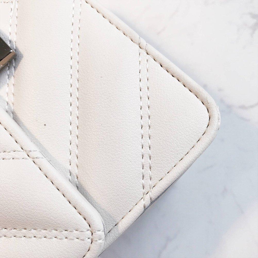 La Tendenza Di Moda Lingge Lingge Lingge Piccolo Quadrato Femminile Spalla Spalla Messenger Bag Borsa Donna Sezione Trasversale Piazza Piccola Borsa Quadrata Fibbia Della Serratura Rombico Sacchetto Id Borsa Del Telefono Mobile Singola Radice Tendenza Moda Superficie M e89271