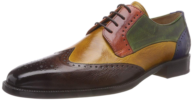 Melvin&Hamilton Jeff 14, Zapatos de Cordones Derby para Hombre