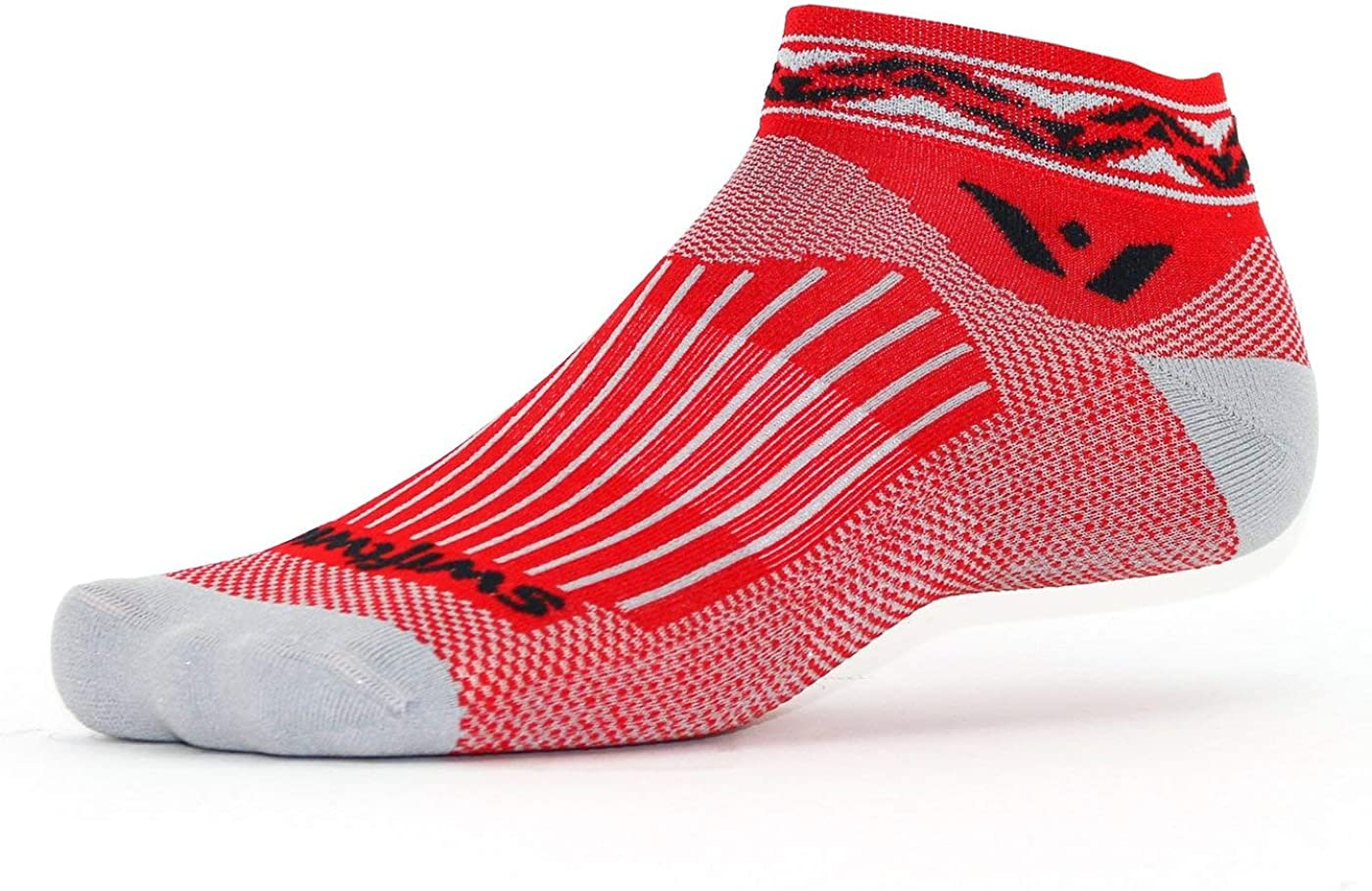 Stylish Cycling /& Running Socks for Men /& Women Cushioned Ankle Socks Swiftwick- VISION ONE