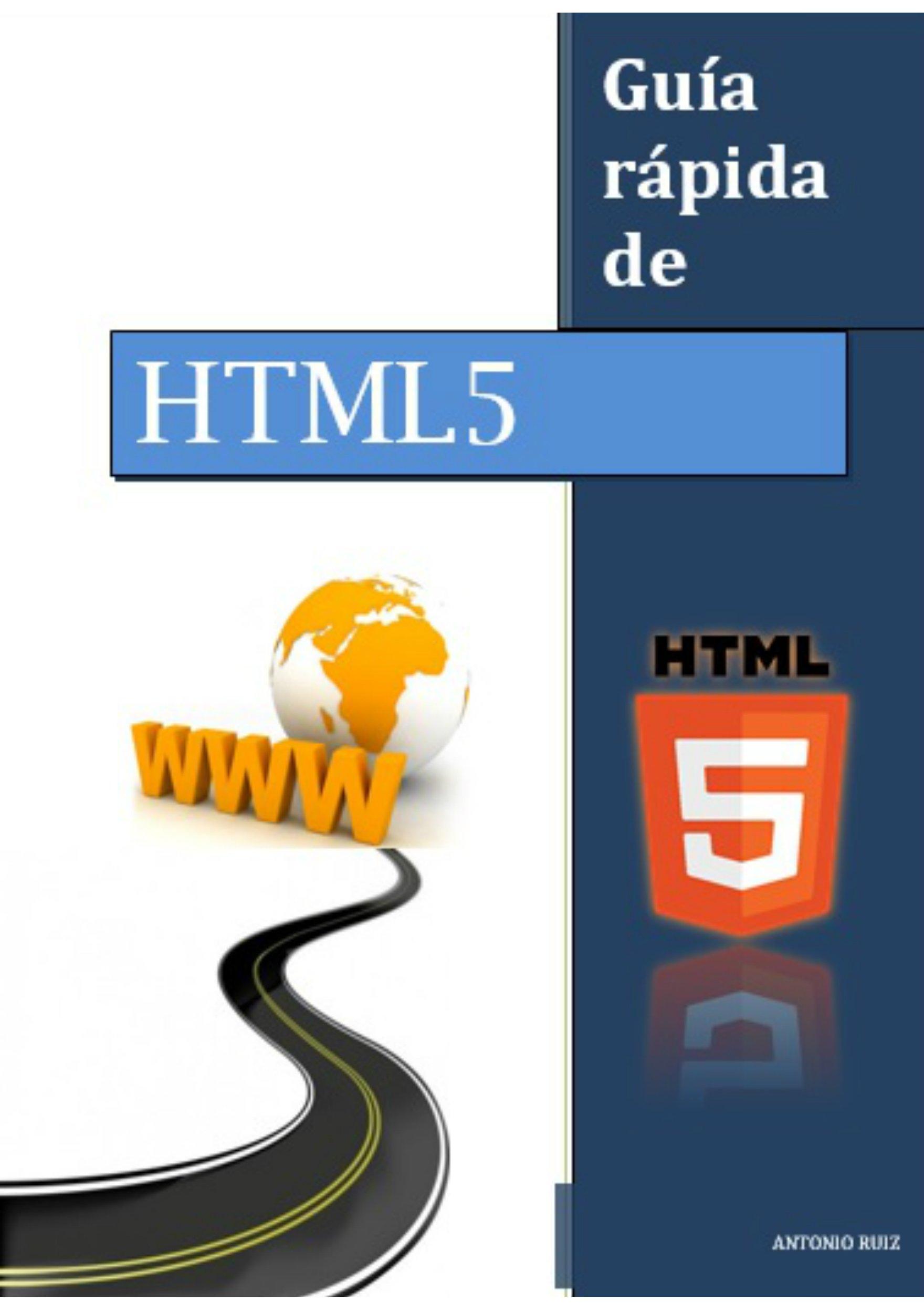 Guía rápida de HTML5