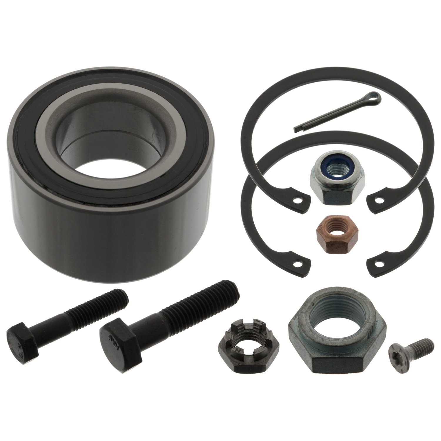 febi bilstein 03488 Wheel Bearing Kit with additional parts pack of one