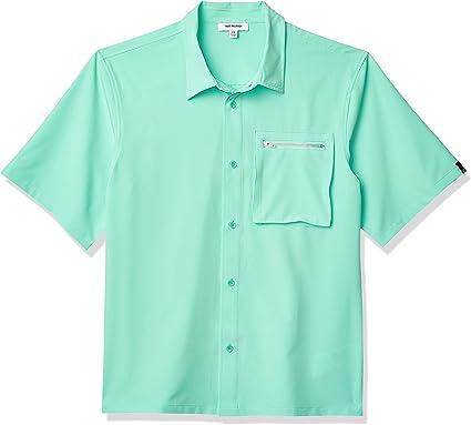 True Religion - Camisa de manga corta para hombre - Verde - Large: Amazon.es: Ropa y accesorios
