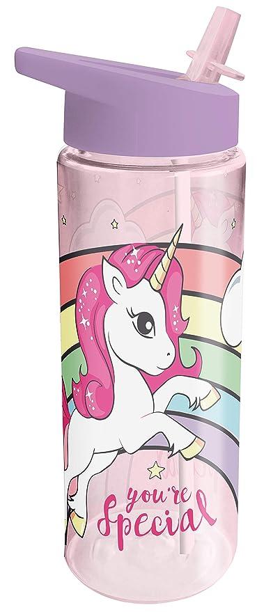 Kids 794222 - Botella cantimplora unicornios, 18 x 7 cm ...