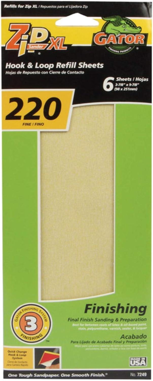 ABRACS SANDPAPER SHEETS FOR WOOD 230MM X 280MM 220 GRIT QTY 25