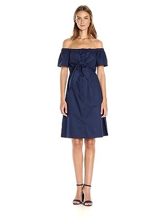 Catherine Catherine Malandrino Women's Mildred Dress, Peacoat, 2