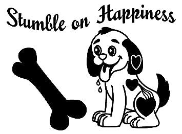 Amazon.com: Los adhesivos de pared para perros son vinilos ...