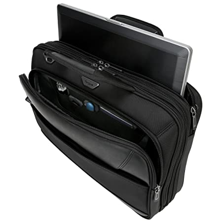 Amazon.com: Targus Mobile ViP Checkpoint-Friendly Laptop Bag with SafePort Sling Drop Protection for 15.6-Inch Laptops, Black (TBT264): Computers & ...