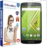CELLBELL® Tempered Glass Screen Protector For Motorola Moto X Play With FREE Installation Kit