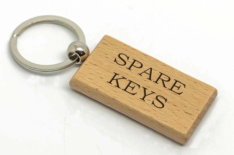 Rectangular personalizado para llaves llavero de madera ...