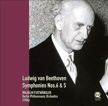 ベートーヴェン : 交響曲第6番「田園」&第5番「運命」 / ヴィルヘルム・フルトヴェングラー、ベルリン・フィルハーモニー管弦楽団 (1954) (Beethoven : Symphony No.6 & No.5 / Furtwangler & BPO (1954) ) [CD] [国内プレス] [日本語帯・解説付き]