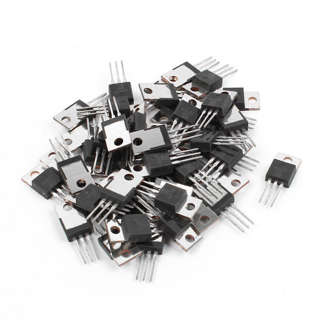 eDealMax a14072400ux0614 IRF740 TO-220 N-Canal MOSFET de Puissance, 400V 10A, 50 pièces
