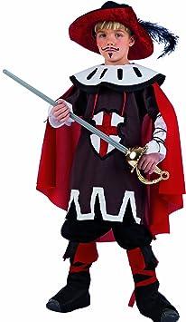 Limit Sport mi562 – Disfraz de Mosquetero D artagnan 3 Piezas ...