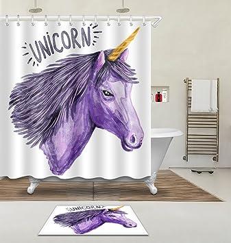 Lb 180x180cm 3d Impression Polyester Tissu Rideau De Douche