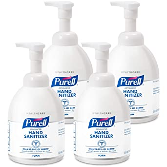 Amazon Com Purell Healthcare Advanced Hand Sanitizer Foam Clean