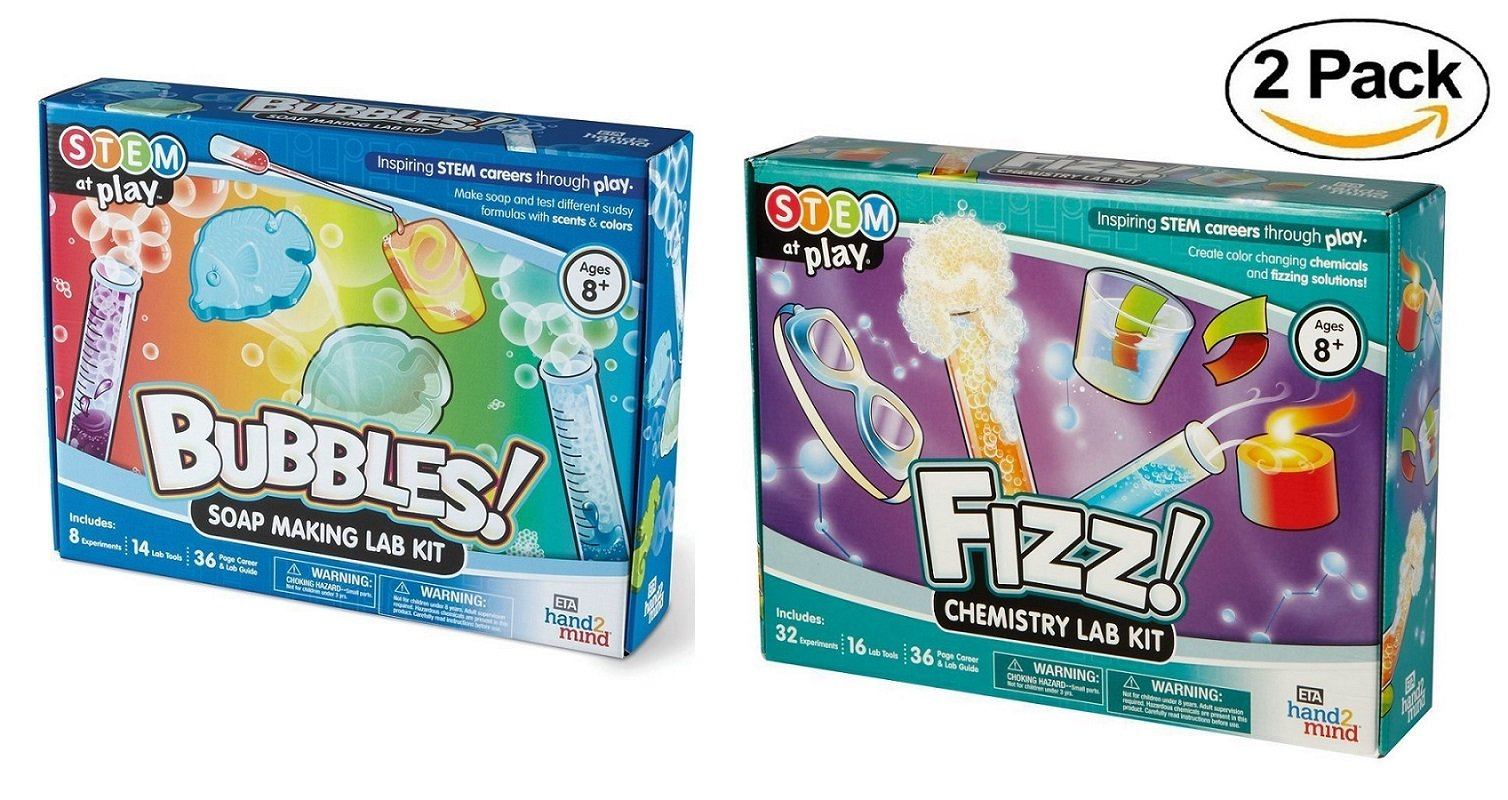 hand2mind ETA Favorite Science Kits with 40 Experiments