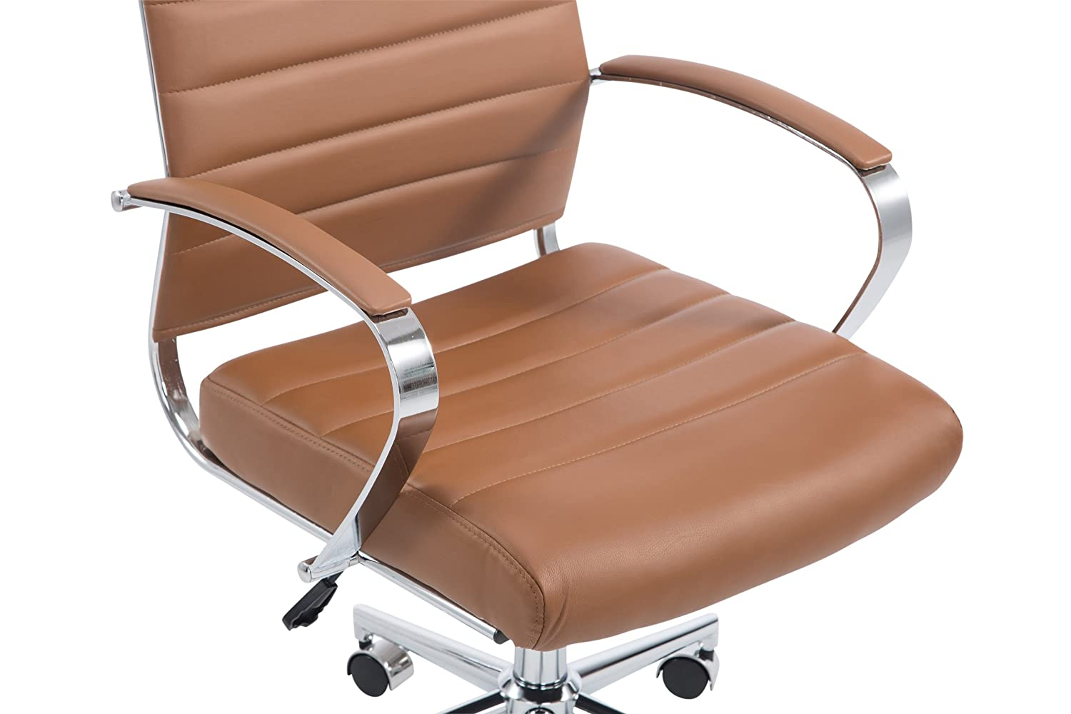 Terracotta Poly and Bark POLY /& BARK EM-252-TER Tremaine Office Chair