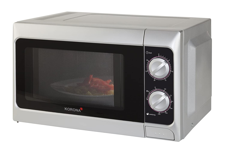 Korona 58050 - Microondas con grill, 800 W, 20 l, color negro y ...