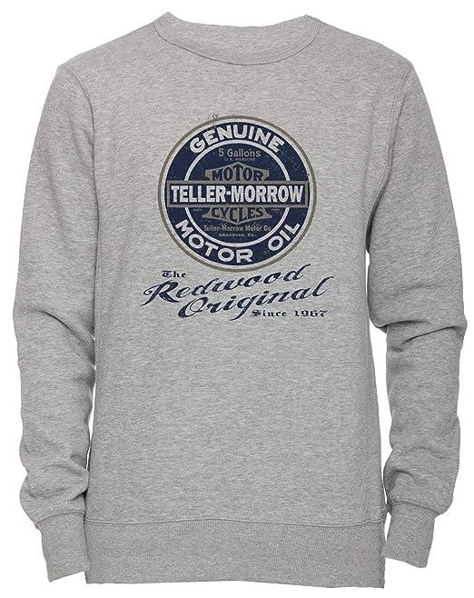 Erido The Redwood Original - Teller Morrow Unisexo Hombre Mujer Sudadera Jersey Pullover Gris Todos Los Tamaños Mens Womens Jumper Grey: Amazon.es: Ropa y ...