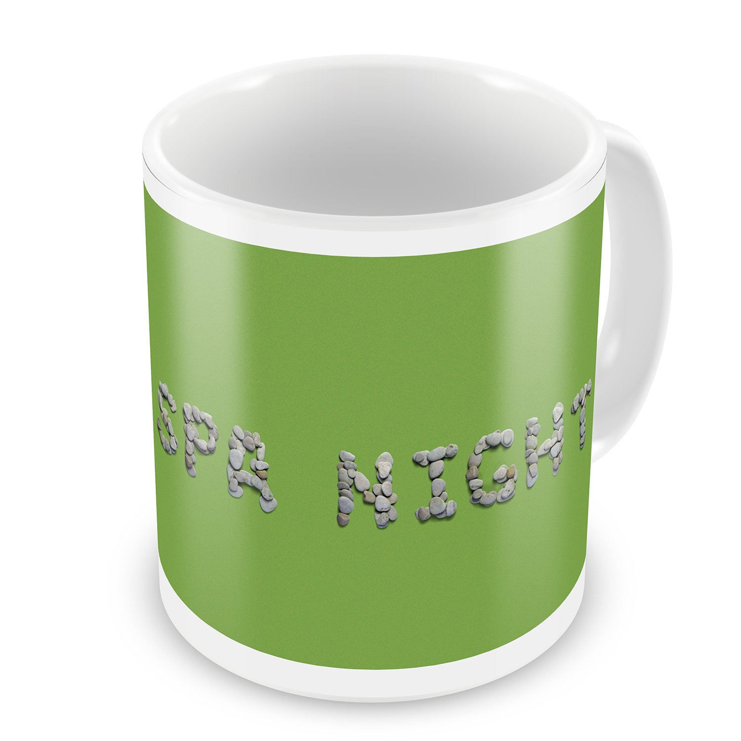 Coffee Mug Spa Night Spa Stones Rocks - NEONBLOND