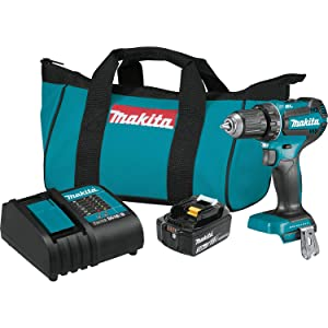 "Makita XFD131 18V LXT Lithium-Ion Brushless Cordless 1/2"" Driver-Drill Kit (3.0Ah)"