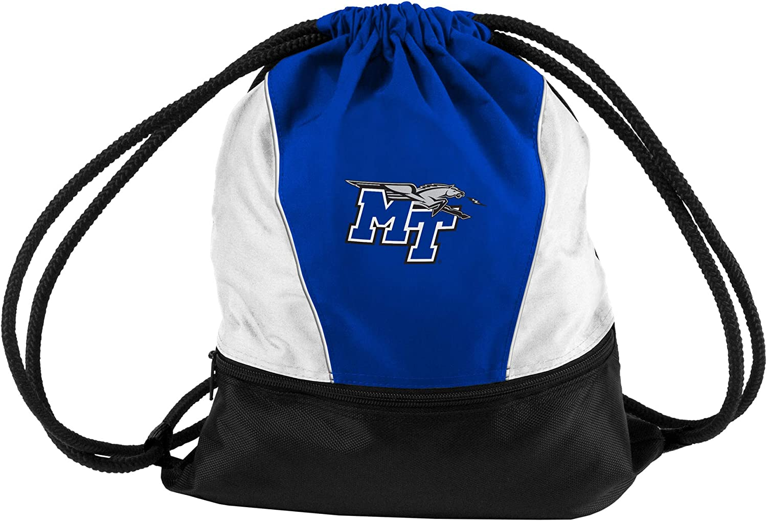Small Logo Brands NCAA Middle Tennessee State Blue Raiders Unisex Adult Sprint Pack Multicolor