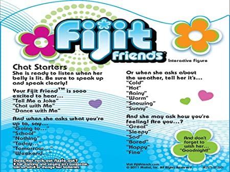 Amazon Fijit Friends Logan Interactive Toy Toys Games