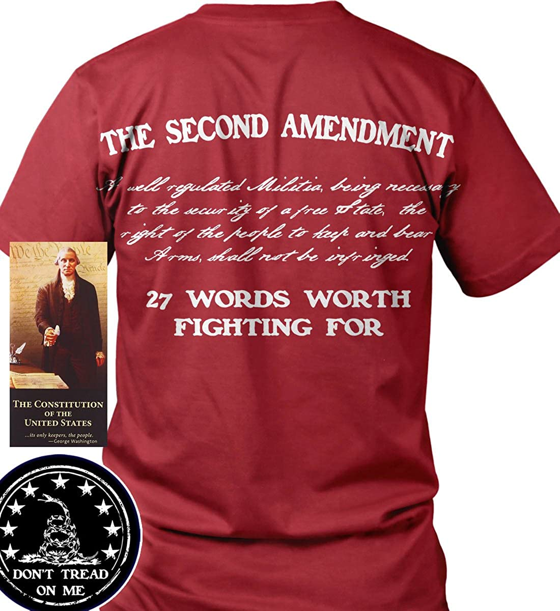2d2453e44 Official Sons of Liberty Tees® Gear. Made in the USA. Second Amendment    Pro Gun T-Shirts. Screen Printed on a Bayside ...