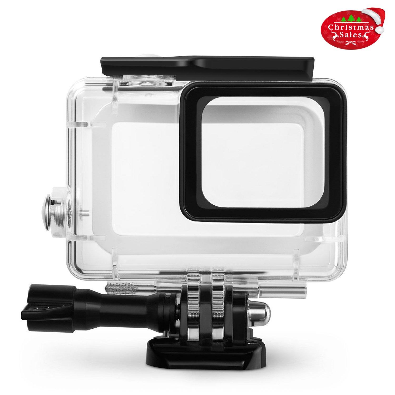 Rhodesy Boîtier Étui Protecteur Étanche inclus Support et Vis pour Caméra  Action GoPro Hero 6 Hero