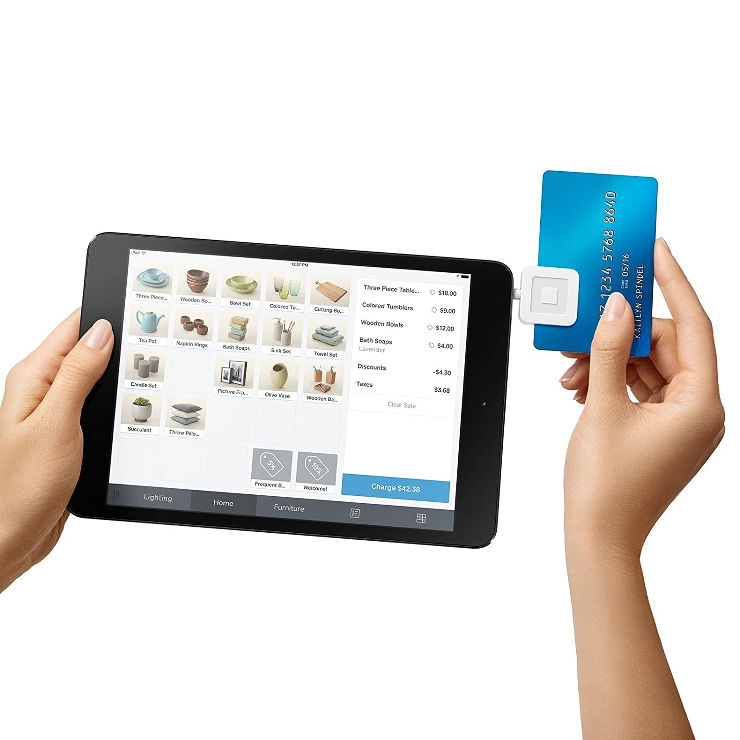 iphone ipad android credit card reader square magnetic pay mobile machine usa - Credit Card Swiper For Ipad