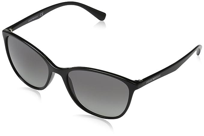 Emporio Armani 501711 Gafas de sol, Black, 56 para Mujer ...