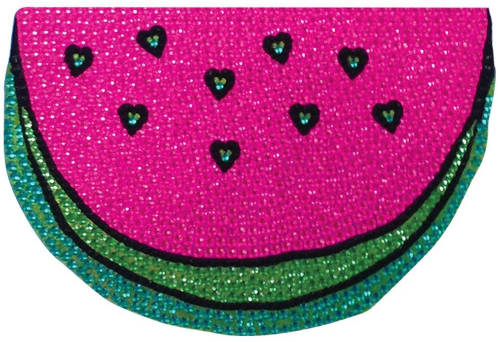 iscream Sparkly Rhinestone Melting Heart Ice Cream Cone 2 Mini Vinyl Cling Decal